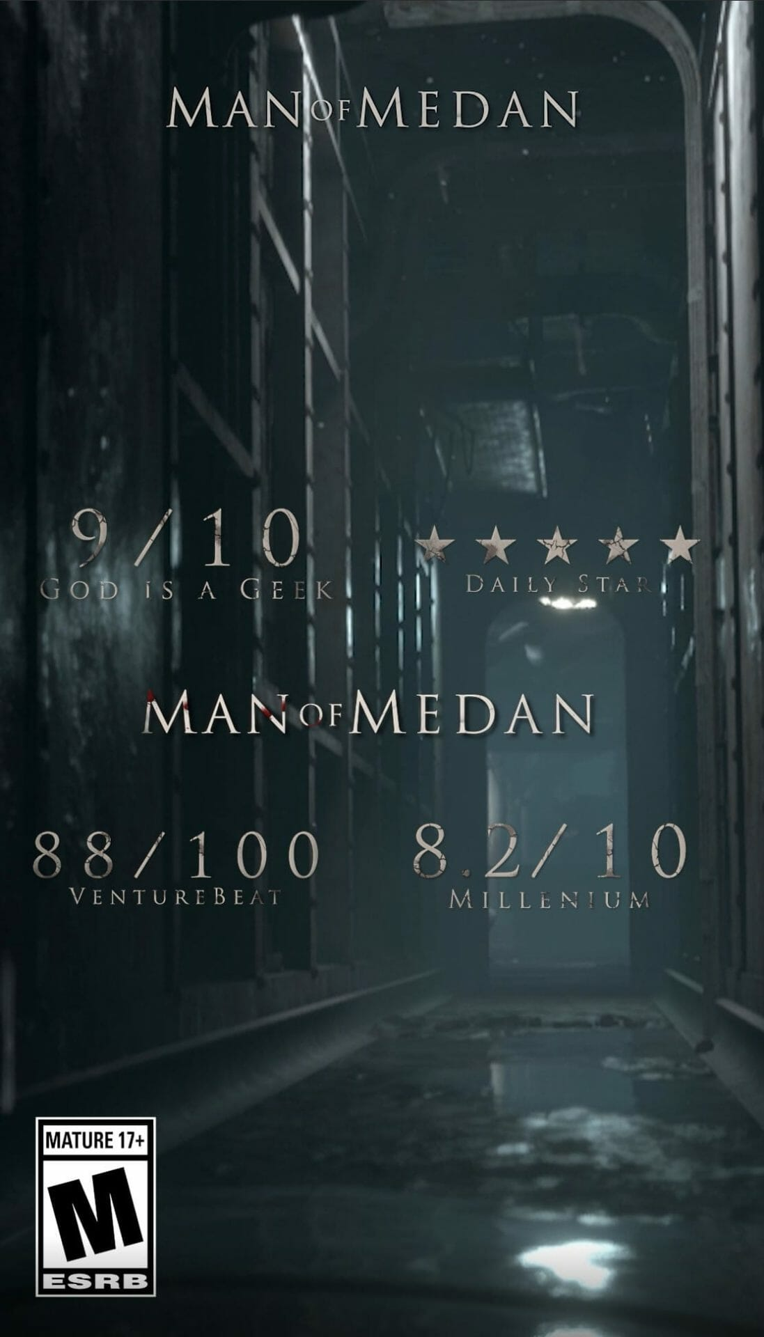 Man of Medan Accolades Key Art